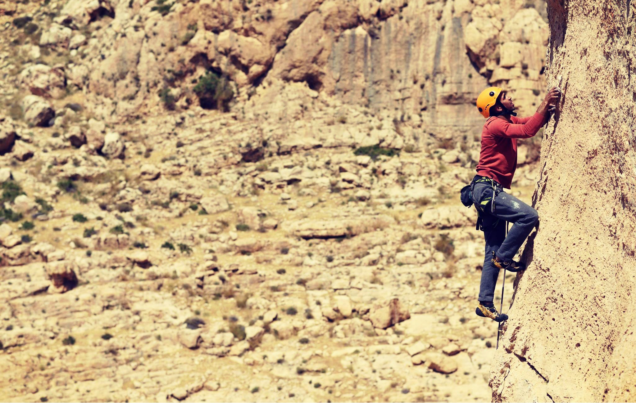 Introduction to Rock Climbing in Palestine