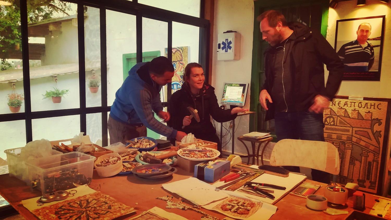 Mosaic Workshop – Jericho